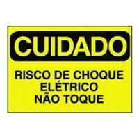 Etiquetas de Advertência Elétrica