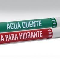 Marcadores de Tubulação Personalizados