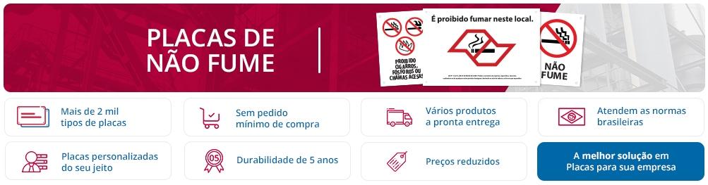 Placas De Não Fume