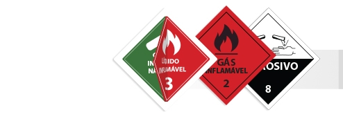 Placas De Simbologia De Risco