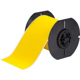 Etiqueta ToughWash de Poliéster Amarela (101,6mm x 15,24m) | S3100, BBP31, BBP33, BBP35, BBP37, I3300