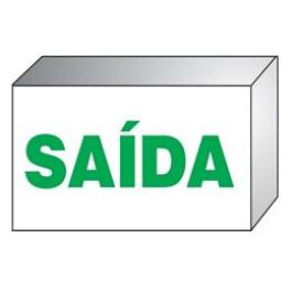 Luminária Autônoma Bivolt - Saída (Verde)