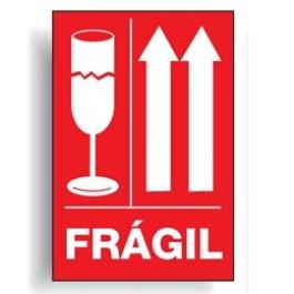 Símbolo para Embalagem de Transporte - Frágil