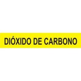 Marcador de Tubulação para Uso Externo - Dióxido de Carbono