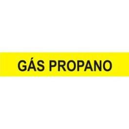 Marcador de Tubulação para Uso Externo - Gás Propano
