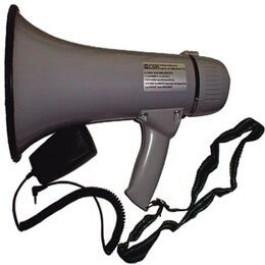 Megafone com Microfone de Mão 20w