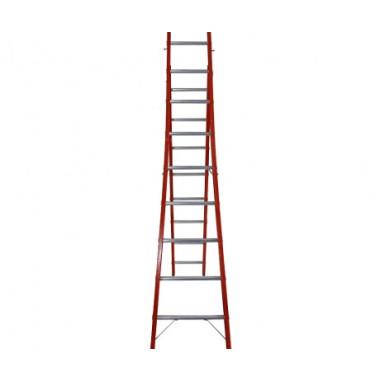 Escada Fibra de Vidro Tesoura-Singela