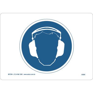 Placa Proteção Para Os Ouvidos