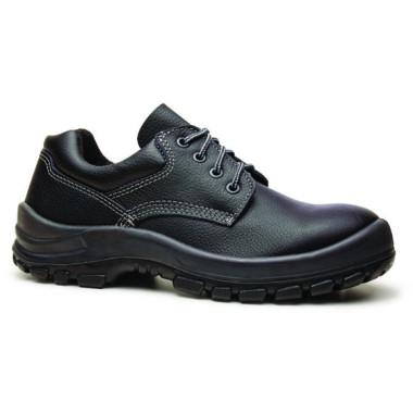 Sapato de segurança com cadarço e bico em aço