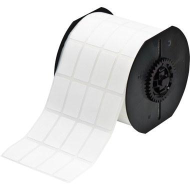 Etiqueta de Nylon Revestidas com Poliamida Branca (36,5mm x 20,3mm) | BBP33 e i3300