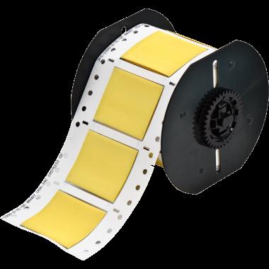 Luvas Termocontráteis PermaSleeve Amarela Impressão em Ambos os Lados (25,4mm x 50,8mm) | BBP33 e i3300
