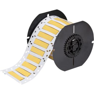 Luvas Termocontráteis PermaSleeve Amarela Impressão em Ambos os Lados (6,35mm x 50,8mm)   BBP33 e i3300