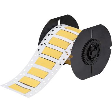 Luvas Termocontráteis PermaSleeve Amarela Impressão em Ambos os Lados (16,38mm x 50,8mm) | BBP33 e i3300