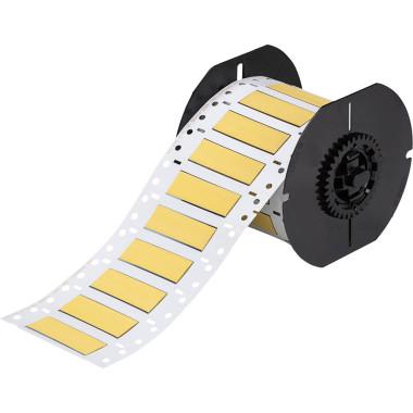 Luvas Termocontráteis PermaSleeve Amarelo Impressão em Ambos os Lados (21,62mm x 50,8mm) | BBP33 e i3300