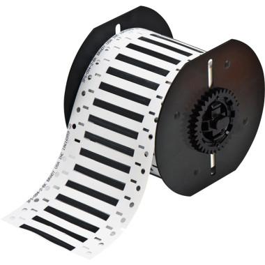 Luvas Termocontráteis PermaSleeve Preta Impressão em Ambos os Lados (4,62mm x 50,8mm)   BBP33 e i3300