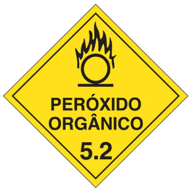 Placa peróxido orgânico 5.2