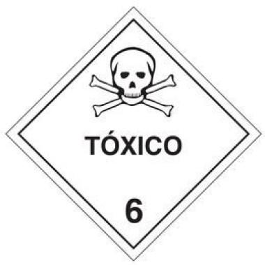 Placa tóxico 6
