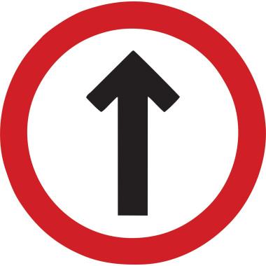 Placa de Sinalização de Trânsito | Siga em Frente