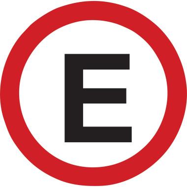Placa de Sinalização de Trânsito | Estacionamento Regulamentado