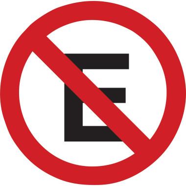 Placa de Sinalização de Trânsito | Proibido Estacionar