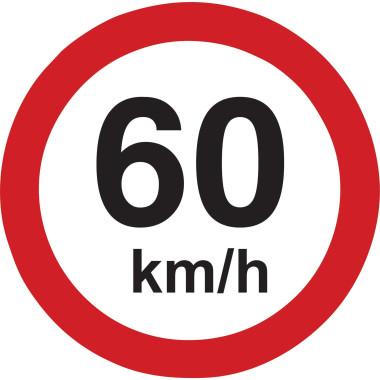 Placa 60km/h