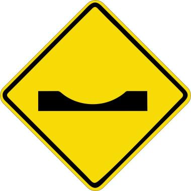 Placa de Sinalização de Trânsito | Depressão