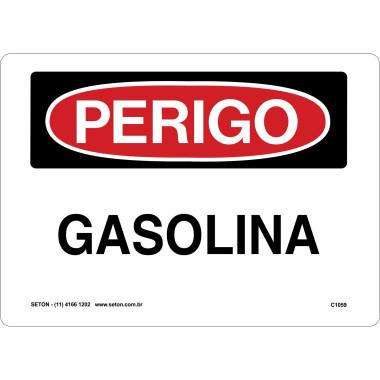 Placa gasolina