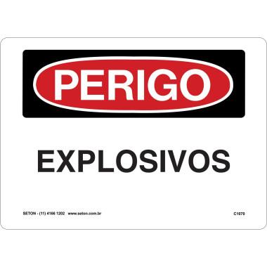 Placa explosivos