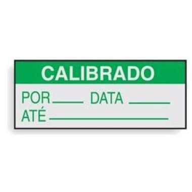 Etiqueta auto-gravável calibrado ii