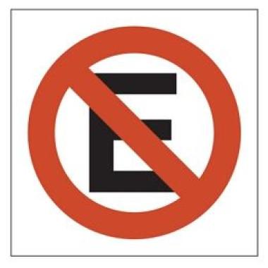 Placa Proibido Animais   Pictograma