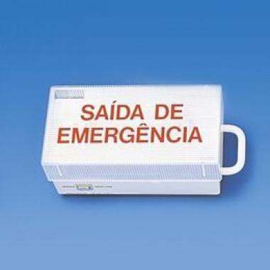 Luminária Saída de Emergência