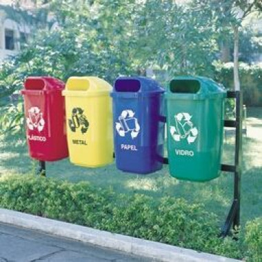 Recipiente para Coleta de Lixo - 50 litros