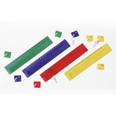 Kit de Chaveiros com Numeração