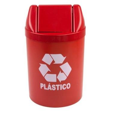 Lixeira para Ambientes Internos - Plástico