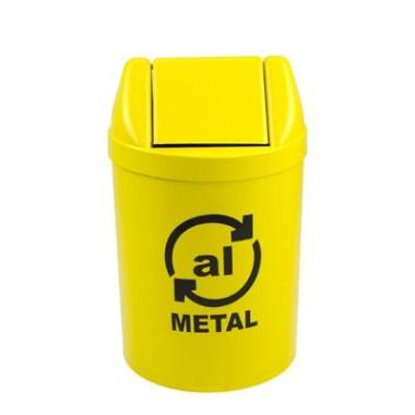 Lixeira para Ambientes Internos - Metal