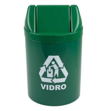 Lixeira Reciclável Vidro