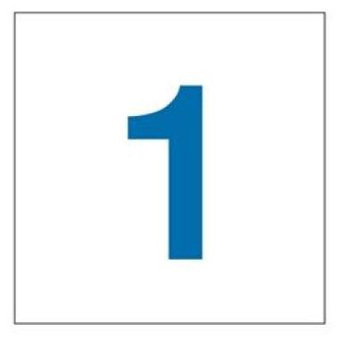 Placa Número 0 Pictograma Vermelho