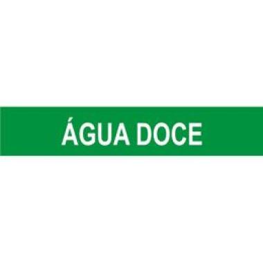 Marcador de Tubulação Autoadesivo - Água Doce
