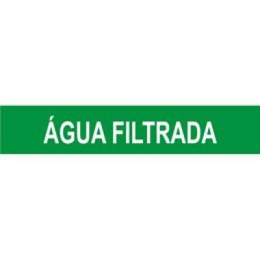 Marcador De Tubulação Para Uso Externo Água Filtrada