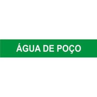 Marcador De Tubulação Autoadesivo Água De Poço