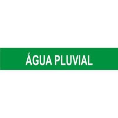 Marcador de Tubulação para Uso Externo - Água Pluvial