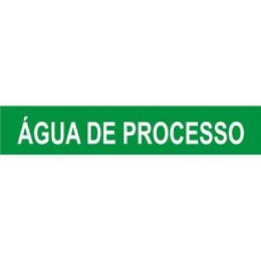 Marcador De Tubulação De Pequeno Diâmetro Água De Processo