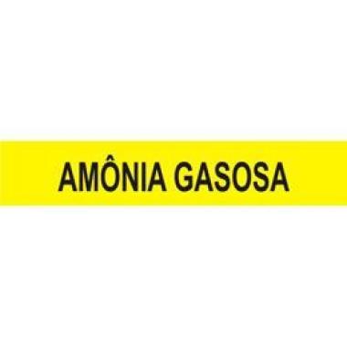 Marcador de Tubulação Autoadesivo - Amônia Gasosa