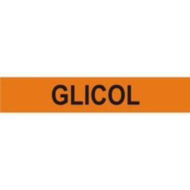 Marcador de Tubulação Autoadesivo - Glicol