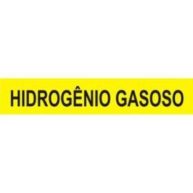 Marcador de Tubulação Autoadesivo - Hidrogênio Gasoso