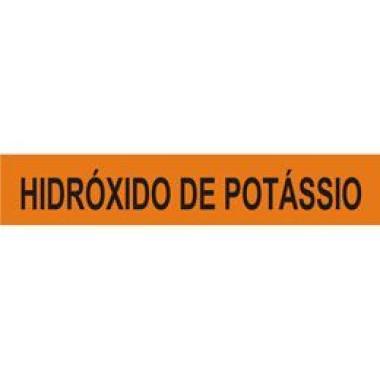 Marcador de Tubulação para Uso Externo - Hidróxido de Potássio