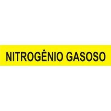 Marcador De Tubulação Para Uso Externo Nitrogênio Gasoso