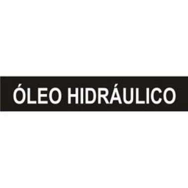 Marcador de Tubulação Autoadesivo - Óleo Hidráulico