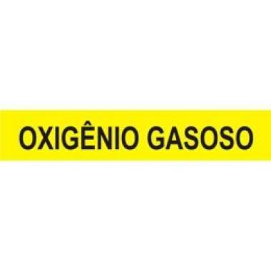 Marcador de Tubulação de Pequeno Diâmetro - Oxigênio Gasoso