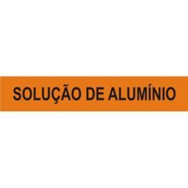 Marcador de Tubulação Autoadesivo - Solução de Alumínio